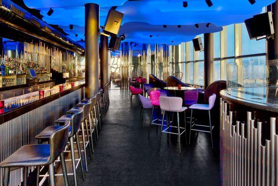 Photo gallery eclipse barcelona cocktail bar night for W barcelona bar